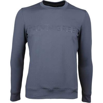 Galvin Green Golf Sweater DRAGO Insula Iron Grey SS18