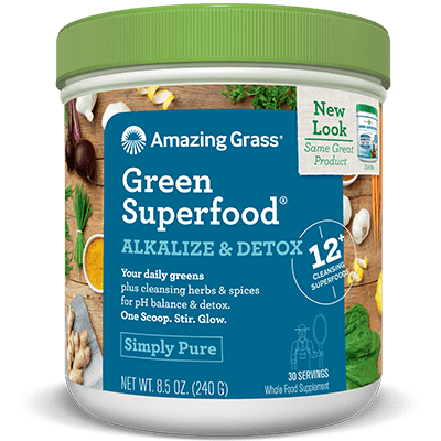 Amazing Grass Green Superfood Alkalize & Detox 240g