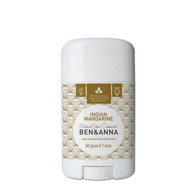 Ben & Anna Indian Mandarine Natural Soda Deodorant 60g