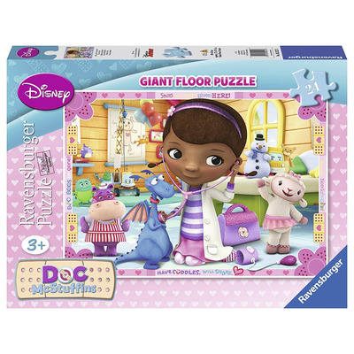 Ravensburger 24pc Giant Floor Puzzle Disney Doc Mcstuffins