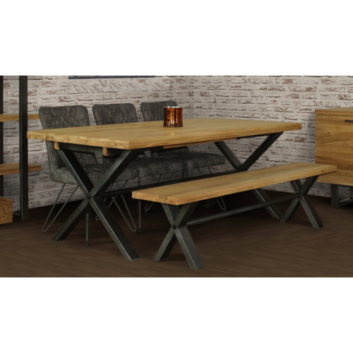 Brooklyn Large Dining Table with 4 Chairs