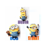 Minions Despicable Me 3D Light FX Minion Wall Deco Character Kids Night Lights