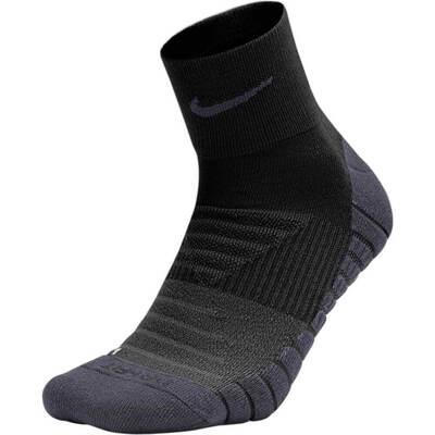 Nike Golf Socks Performance Cushion QTR Black 2018