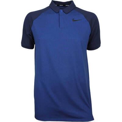 Nike Golf Shirt NK Dry Raglan Gym Blue AW18