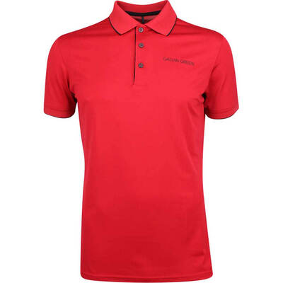 Galvin Green Golf Shirt Marty Tour Red SS20