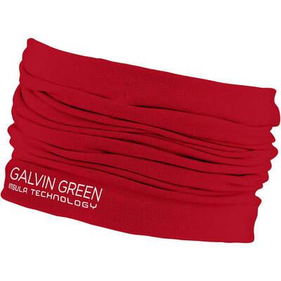 Galvin Green Golf Snood Delta Insula Red SS20