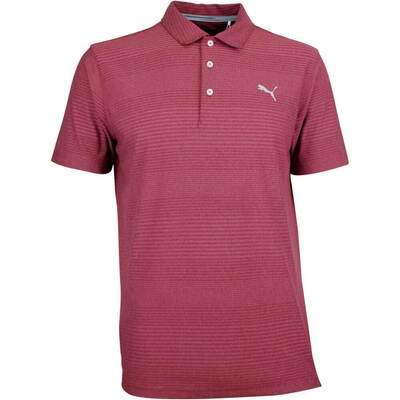 Puma Golf Shirt Aston Pomegranate AW18