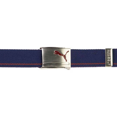 Puma Golf Belt Reversible Web Sodalite Pomegranate AW18