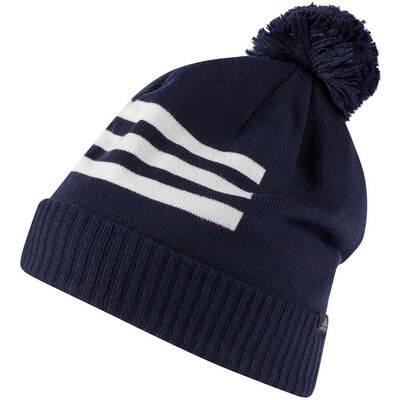 Adidas Golf Hat 3 Stripes Pom Beanie Collegiate Navy AW18