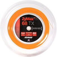 Ashaway ZyMax 68 TX Badminton String - 200m Reel - Orange