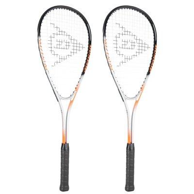 Dunlop Hyper Ti Squash Racket Double Pack