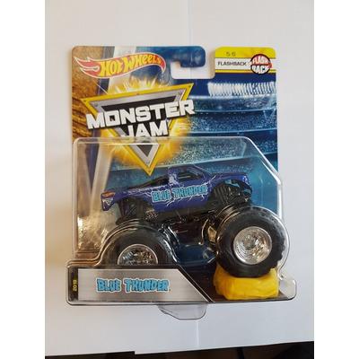 Hot Wheels Monster Jam   Blue Thunder   Flashback 5/6