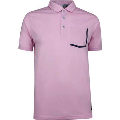 PUMA Golf Shirt Faraday Pale Pink SS19
