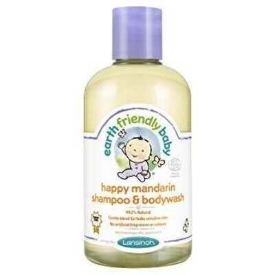 Earth Friendly Baby Happy Mandarin Shampoo & Bodywash 250ml