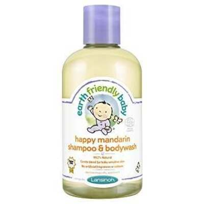 Earth Friendly Baby Happy Mandarin Shampoo & Bodywash 250ml