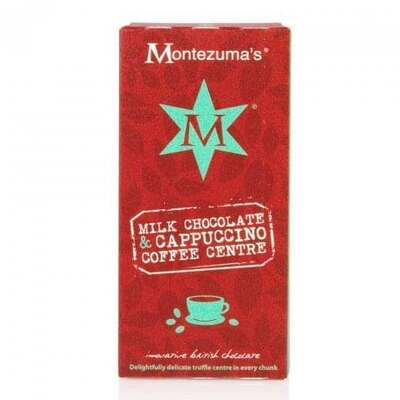 Montezumas Milk Chocolate & Coffee Truffle Bar 100g