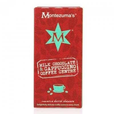 Montezumas Milk Chocolate & Coffee Truffle Bar 100g