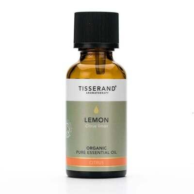 Tisserand Aromatherapy Organic Lemon Essential Oil 30ml