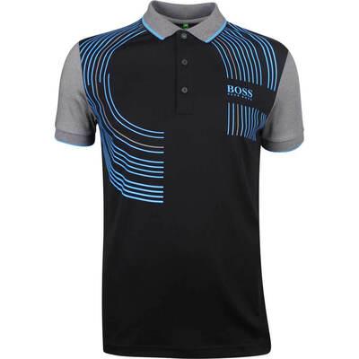 BOSS Golf Shirt Paddy Pro 2 Black SP19