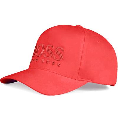 BOSS Golf Cap Tech Logo 3 Tango Red SP19