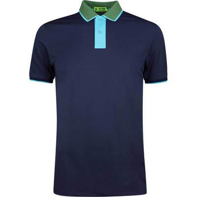GFORE Golf Shirt Contrast Polo Twilight SS19