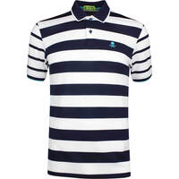 GFORE Golf Shirt Skull Stripe Polo Twilight SS19