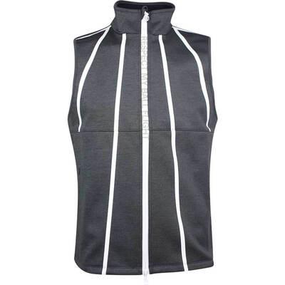 GFORE Golf Gilet Fleece Backed Vest Heather Grey SS19