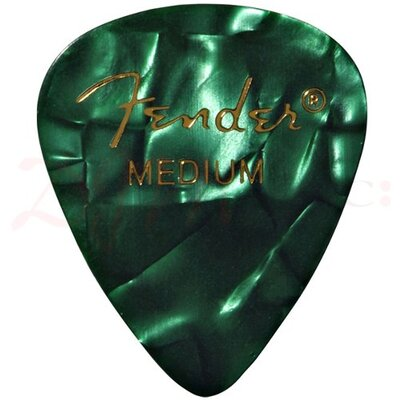 Image of Fender Heavy Green Celluloid Picks