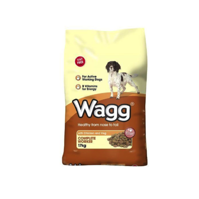 Wagg Worker Chicken & Veg 17kg