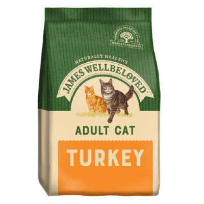 James Wellbeloved Life Stage Turkey Adult Cat