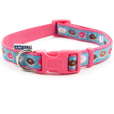 Ancol Pink Donut Adjustable Collars