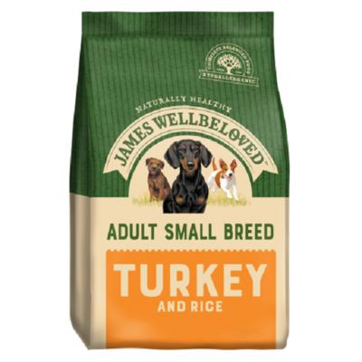 James Wellbeloved Adult Small Breed Turkey & Rice
