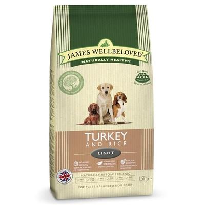 James Wellbeloved Adult Light Turkey & Rice Dog Food