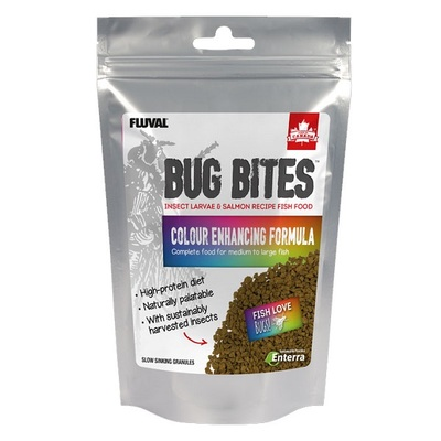 Fluval Bug Bites Colour Enhancing Granules