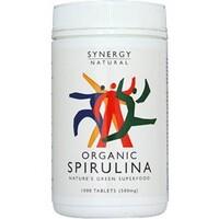 Spirulina 500mg (100% Organic) 1000's (Currently Unavailable)