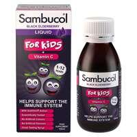 Sambucol For Kids + Vitamin C (Black Elderberry) 120ml