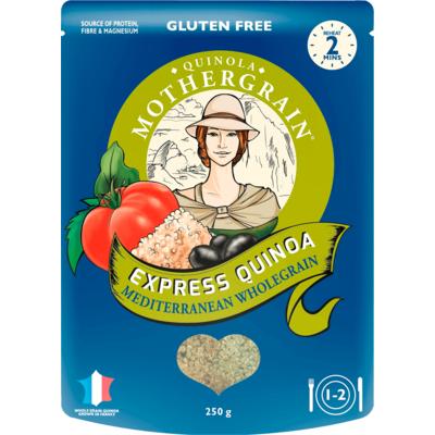 Quinola Mothergrain Express Quinoa Mediterranean Wholegrain 250g