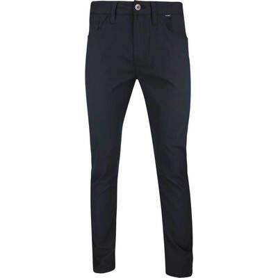 TravisMathew Golf Trousers Trifecta Chino Black SS19