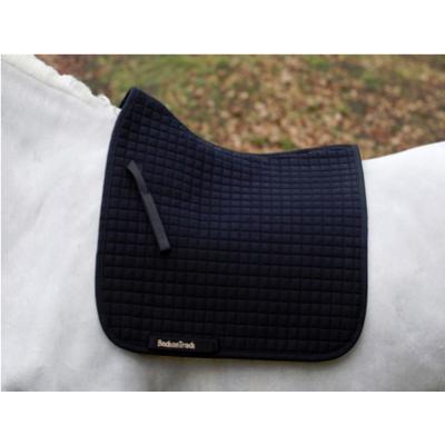 Back on Track® Equine / Horse Saddle Pads / Numnahs - Black Saddle Pad, Dressage (No. I) Cob
