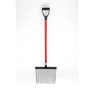 Fyna Lite Shavings Fork - Standard D Handle (110 cm) - Hardwood Unassembled