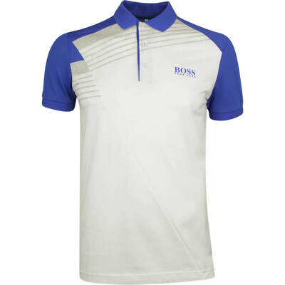 BOSS Golf Shirt Paddy Pro 1 Training White PF19