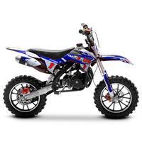 Image of FunBikes MXR 50cc Motorbike 61cm Blue/Black Kids Dirt Bike