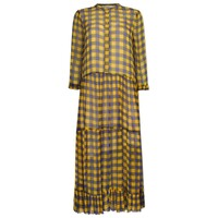 Alexondra Dress - Golden Black Check