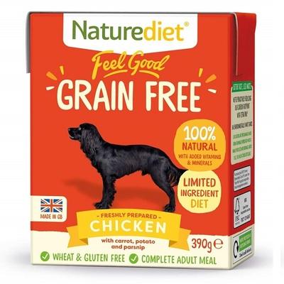 Naturediet Feel Good Grain Free Dog Food