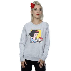 disney princess women's snow white pop art sweatshirt