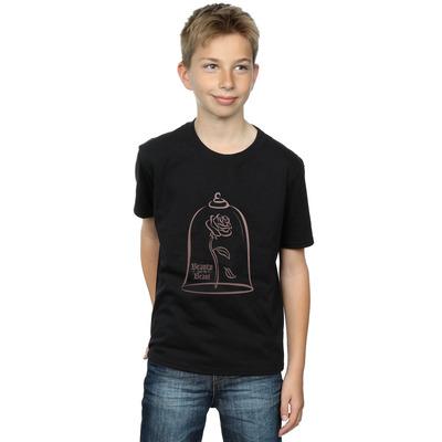 disney princess boys princess rose gold t-shirt