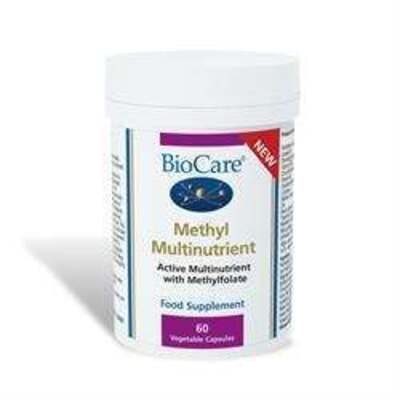 BioCare Active Multinutrient with Methylfolate 60 Capsules