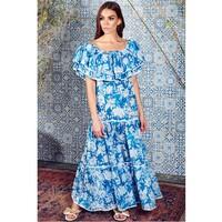 Cala Maxi Dress - Azure