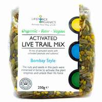 Activated Trail Mix Bombay Style (Organic) 250g