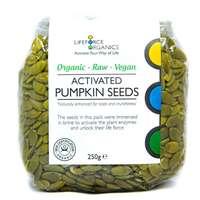 Activated Pumpkin Seeds (Organic) 250g